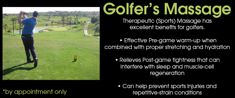 Golfers Massage